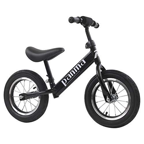 Pipeline?SURF BRAND キッズバイク キックバイク こども用 自転車 ペダル無し 軽量 アウトドア (ブラック)