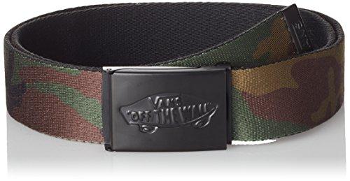 Vans Shredtor II Web Belt Cintura, Verde (Classic Camo), Taglia Unica Uomo