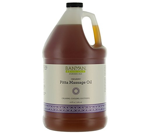 Sale!! Banyan Botanicals Pitta Massage Oil - Certified Organic, 128 oz - Calming, Cooling, Soothing ...