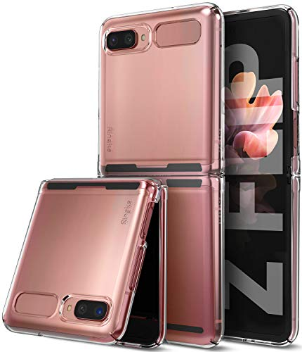 Ringke Slim Compatible with Galaxy Z Flip Case 5G (2020) - Clear Transparent