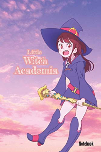Little Witch Academia notebook ; anime notebook ; little witch academia journal for girls, boys and kids ; gift for anime lovers; Ritoru Witchi ... Journal - Large (6 x 9 inches) - 110 Pages