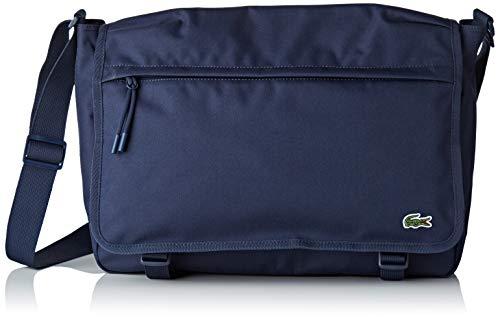 Lacoste - Nh2463ne, Shoppers y bolsos de hombro Hombre, Azul (Peacoat), 11x27.8x39...