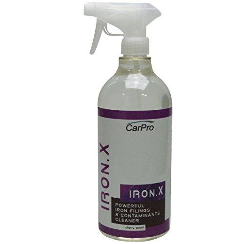 CarPro Iron X Cleaner-Felgenreiniger und mehr 1000 ml Flasche/Nachfüllpack