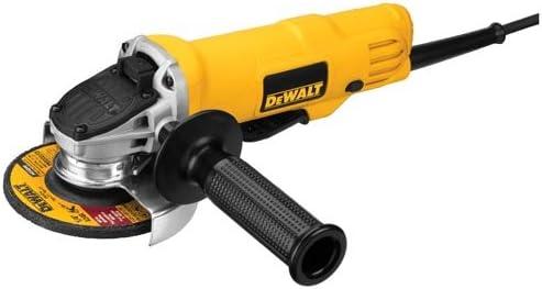 Dewalt Angle Grinder Tool, 4-1/2-Inch, Paddle Switch, 7-Amp (Dwe4012)
