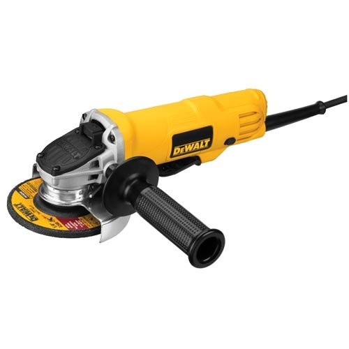 DEWALT Angle Grinder Tool, 4-1/2-Inch, Paddle Switch, 7-Amp (DWE4012),Small