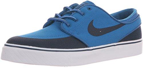 Nike Zoom Stefan Janoski PR SE Zapatillas deportivas de tela para hombre, Zoom Stefan Janoski Pr Se, 7.5 M US, Azul militar/Obsidiano-blanco