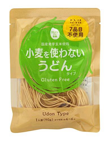 大潟村あきたこまち生産者協会 グルテンフリー習慣 小麦を使わないうどんタイプ 90g×12袋