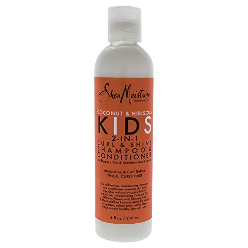 Kids Curl & Shine 2-in-1 Shampoo & Conditioner by Shea Moisture