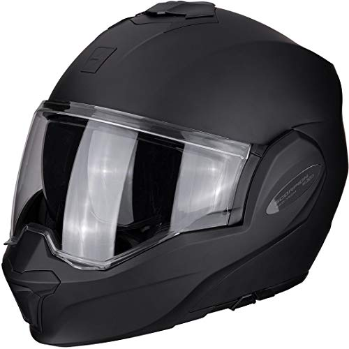 SCORPION Herren EXO TECH SOLID Helm, Matt Black, XL