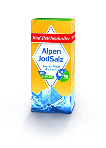 Bad Reichenhaller Jodsalz mit Fluor, 500 g Packung