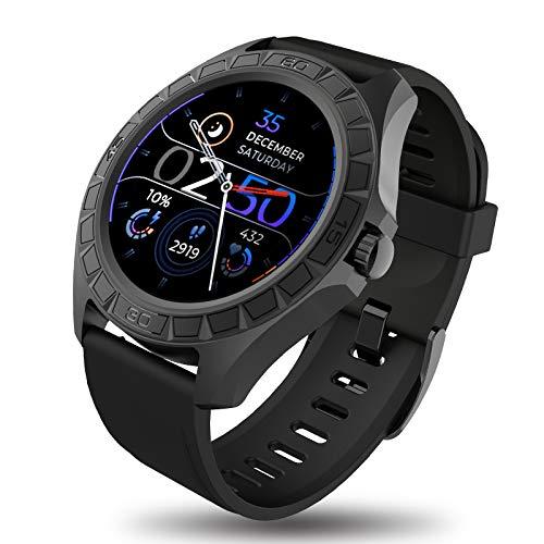 BIGCHINAMALL Reloj Inteligente Hombre, Smartwatch de Pantalla Táctil Completa, Relojes Deportivo Pulsómetro, Reloj Inteligentes Pulsera de Actividad para Android iOS Huawei Samsung Xiaomi (Deportivo)