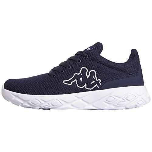 Kappa Unisex PAUTO Sneaker, Blau (Navy/White 6710), 45 EU