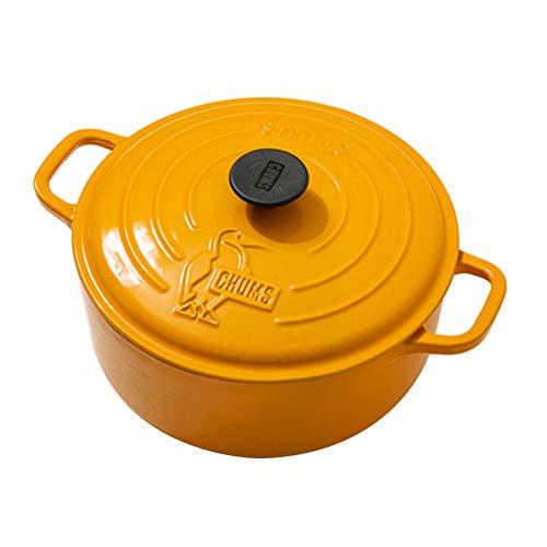 チャムス(CHUMS) 鍋 カラーダッチオーブン10インチ CH62-1262-Y001-00 イエロー