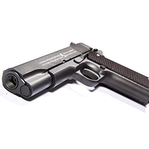 CYBERGUN Pistola Softair Colt 1911A1 Anniversary - Full Metal, Semi Automatica, Sicura, a Colpo Singolo - Replica Smontabile come l'Originale, Potenza
