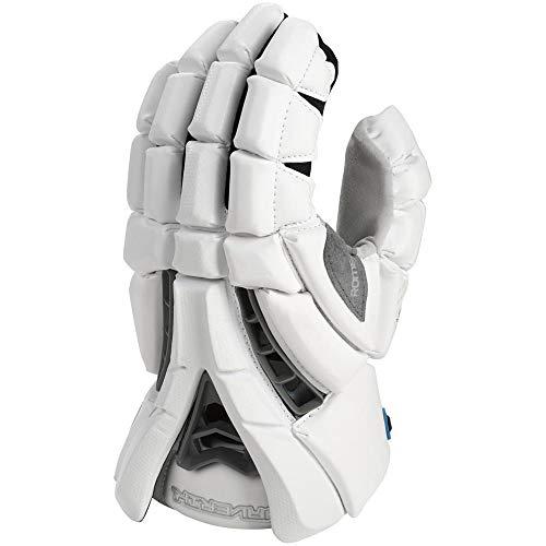 Maverik Rome Lacrosse Gloves White 13 inch