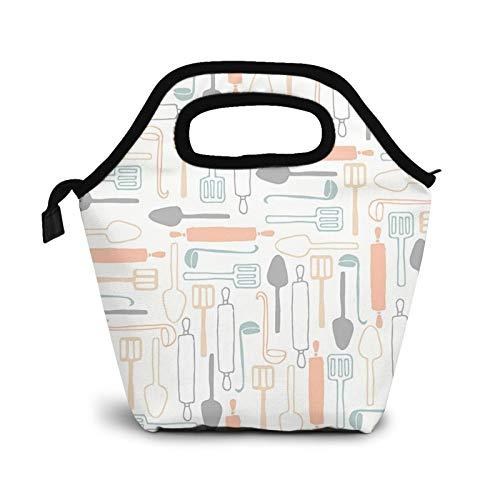 Bolsa Térmica Comida Bolsas De Almuerzo para Mujeres Hombres Niñas Niños Bolsa Isotérmica De Almuerzo Utensilios de cocina para cocinar