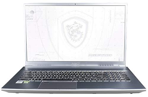 CUK WF75 by MSI 17 inch Mobile Workstation Laptop (Intel Core i7, 32GB RAM, 1TB NVMe SSD, NVIDIA Quadro RTX 3000 6GB, 17.3' 144Hz, Windows 10 Pro) Thin Bezel Notebook Computer