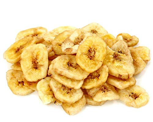 Banana Bulk Sweetened Premium Dried Banana Chips 10 Pound Wholesale Value Box