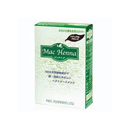 Mac Planning Mac Henna Herbal Hair Treatment Natural Bronze 100g