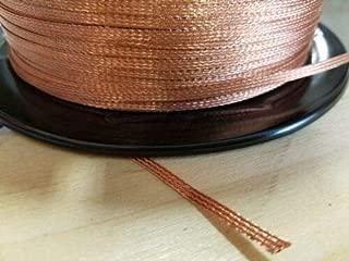 braided ground strap connector