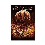 Nightwish Rock Band Leinwand Poster Schlafzimmer Dekor