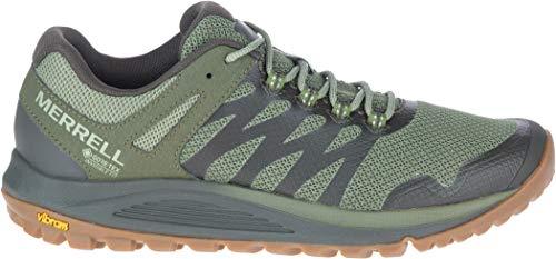 Merrell Nova 2 GTX, Zapatillas para Caminar Hombre, Verde (Lichen), 44.5 EU