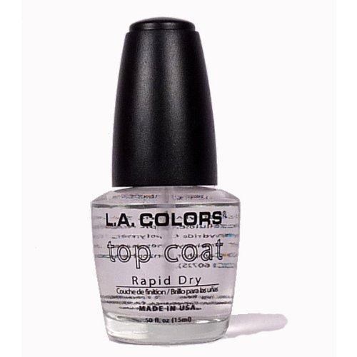 l a colors gel nail polishes LA Colors Nail Polish Top Coat