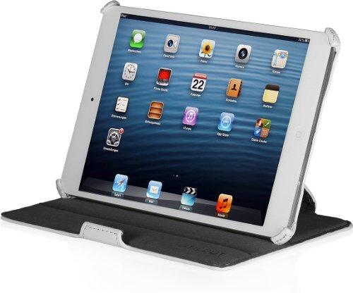 StilGut Schutz-Hüllemit Standfunktion kompatibel mit iPad Mini/Mini mit Retina Display/iPad Mini 3, weiß-V2