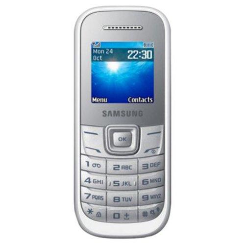 "Celular Samsung E1207Y para Idosos Keystone 1207 Dual Sim Tela 1.52"" Radio FM Branco"