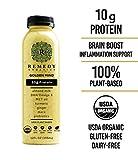 Remedy Organics Golden Mind 12 Pack   USDA Organic   Gluten Free   Dairy Free   Soy Free