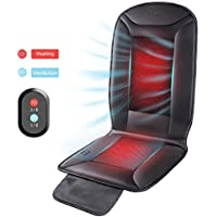 Naipo Warmer & Cooler 2 in 1 Cushion Seat Cover with Heating & Ventilation Function