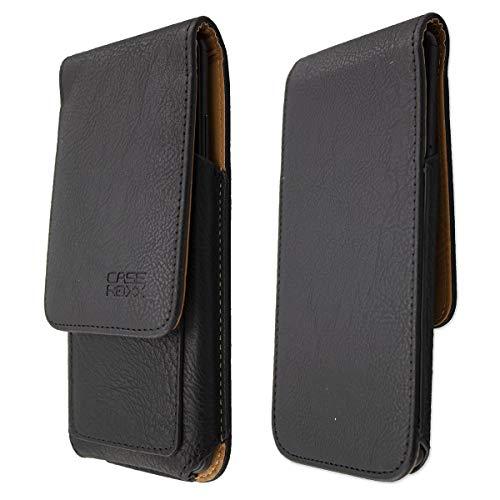 caseroxx Handy Hülle Klappetui kompatibel mit Lenovo Moto G (4. Gen) Plus, Smartphone Tasche (Klappetui in schwarz)
