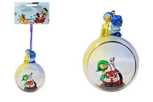 Disney sur lenvers en verre croquis Décoration de sapin de Noël Collection