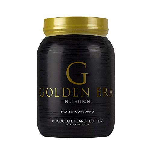 Golden Era Nutrition Whey Protein Compound Powder, Chocolate Peanut Butter Flavor, Gluten-Free, 2 Pounds