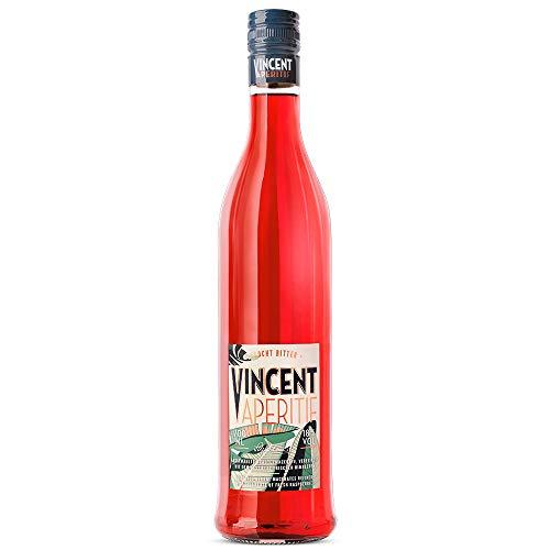 Schladerer Vincent Aperitif, fruchtiger Schwarzwälder Bitter-Aperitif, perfekt als Spritz oder mit Tonic (1 x 0.7 l)