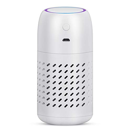 Vou tiger Portable Air Purifier, Car Air Cleaner With Active Carbon Filters,...