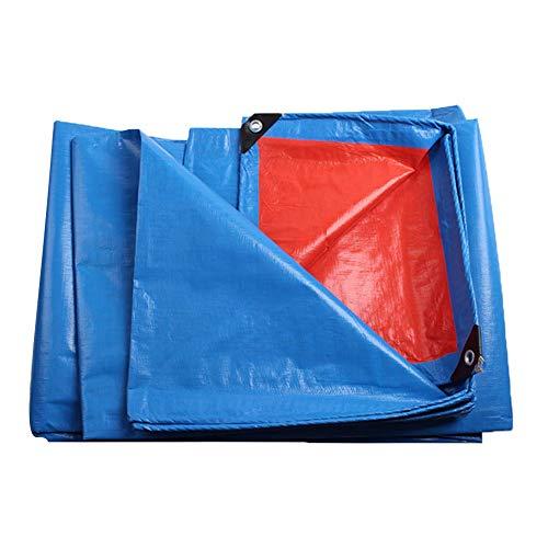 MENG waterdicht dekzeil en zonbescherming PE kunststof dekzeil luifel geschikt voor tenten, boten, campers of zwembadhoezen