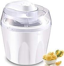 Máquina para hacer helado hecho en casa helado o sorbete de yogur Sorbete de hielo Máquina sana simple operación de una pulsación para el hogar bricolaje cocina