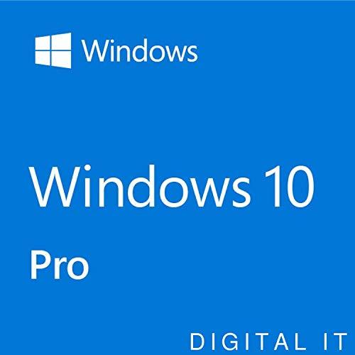 Windows 10 Professional 32/64 bit | Chiave di licenza originale | Garanzia di attivazione al 100% | [Download] |valido per l'aggiornamento da Windows 10 Home a 10 pro , 1h-24h di consegna via e-mail