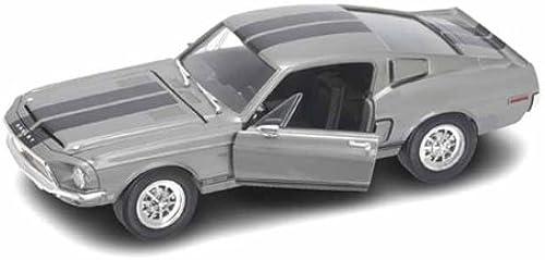 1968 Shelby GT 500 KR 1 18 Silber w schwarz Stripes