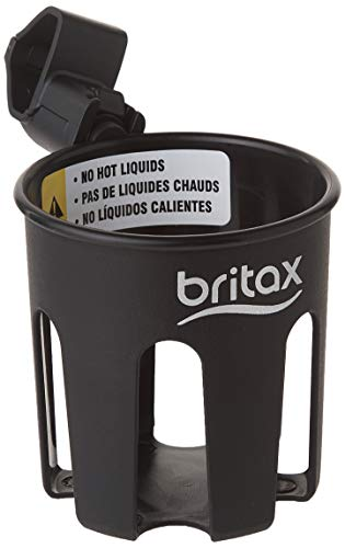 Britax Stroller Cup Holder, Black - Compatible with Single B Agile, B Free, Pathway and B Lively Strollers