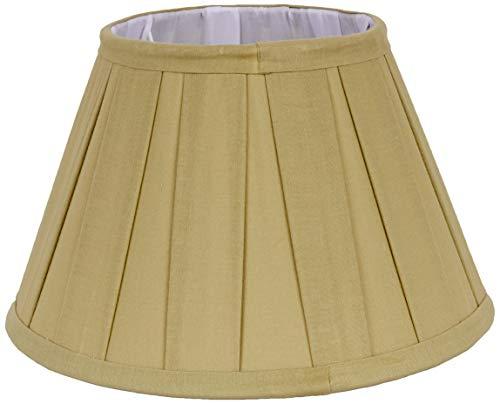 Better & Best lampenkap, katoen, 25 cm, brede plank, lichtgroen