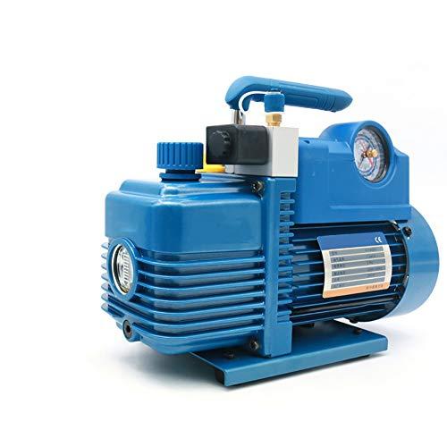 2L Vakuumpumpe 250W 7.2M3 / H mit Magnetventil, R410A Kälteklimaanlage Reparatur, für die Wartung der Klimaanlage-System