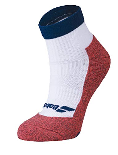 Babolat Damen Pro 360 Women Socken, weiß/blau (White/Estate Blue), 35/38
