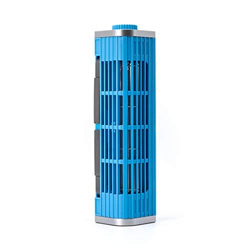 jfhrfged Laptop-Kühler Verstellbarer Kühlständer USB-Laptop-Querstrom-Lüfterhalter (Blau)
