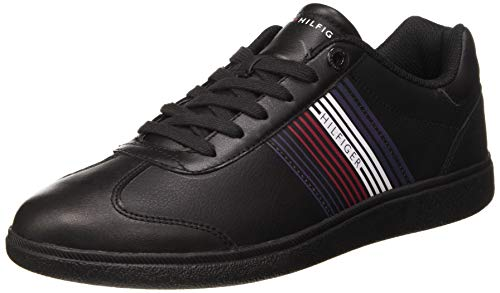 Tommy Hilfiger Herren Danny 16A Sneaker, Black, 41 EU