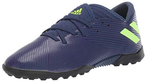 adidas Men's Nemeziz Messi 19.3 TF Sneaker, Indigo/Green/Purple, 9.5 M US