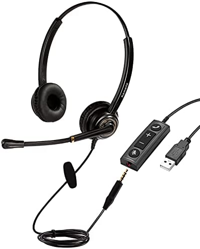 Top 10 Best mpow 071 usb headset 3.5mm computer headset with microphone