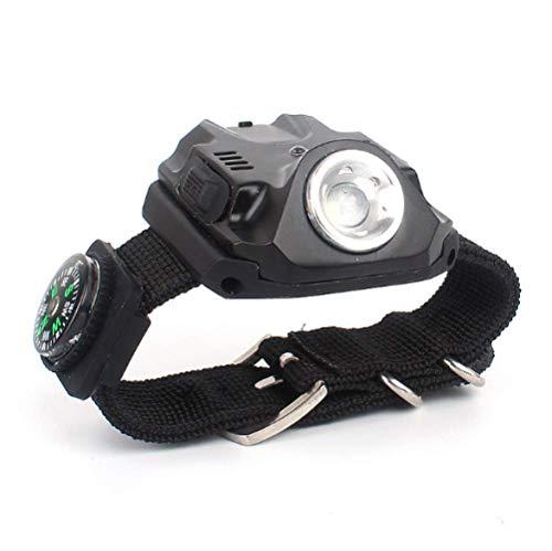 LedHandgelenk Licht Outdoor Camping Blendung Taschenlampe Nacht Angeln Nacht Laufen Fahrrad Reiten Licht Multifunktionsuhr Licht