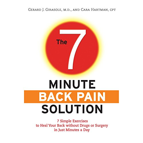 The 7-Minute Back Pain Solution audiobook cover art